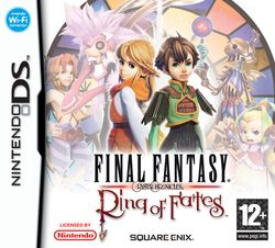 Final Fantasy Crystal Chronicles : Ring of Fates   pochette