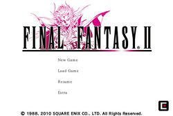 Final Fantasy I & II iPhone - 8