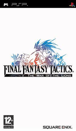 Final Fantasy Tactics PSP   Pochette PAL