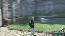 Final Fantasy Type-0 HD - flou camera