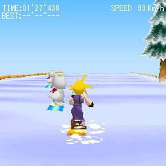final fantasy vii snowboarding (1)