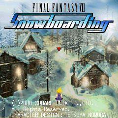 final fantasy vii snowboarding (3)