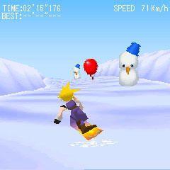 final fantasy vii snowboarding (5)