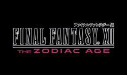 Final Fantasy XII The Zodiac Age - logo