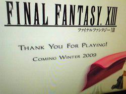 Final Fantasy XIII - screenshot démo - 7