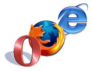 Firefox   Opera   IE   Internet Explorer   logo