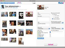 Flickr Uploadr screen1.