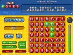 Flip Words screen 1