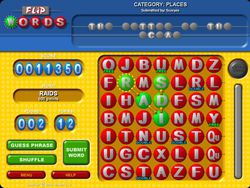 Flip Words screen 2