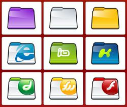 Folder Icons screen 1