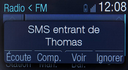 Ford Sync SMS