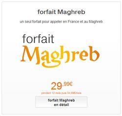 forfait maghreb Orange
