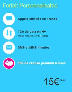 forfait perso Joe Mobile