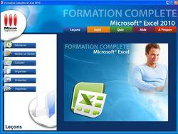 Formation complète à Microsoft® Excel 2010 screen 1
