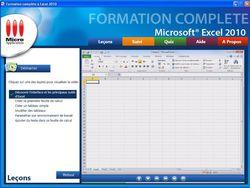 Formation complète à Microsoft® Excel 2010 screen 2