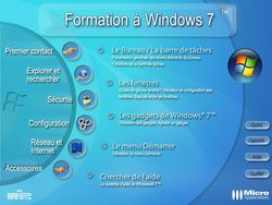 Formation complète à Windows 7 screen 1