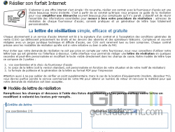 Formuleur resiliation abonnement internet ariase small