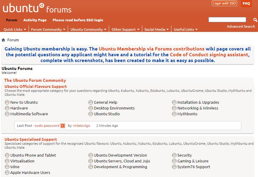 Forums-Ubuntu