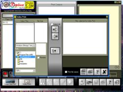 FotoReplica screen