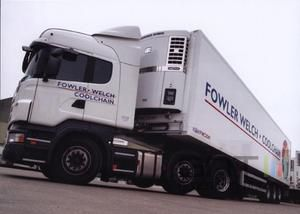 Fowler welch coolchain camions