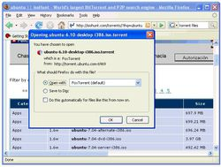 FoxTorrent screen 2