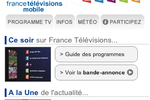 France Televisions site mobile