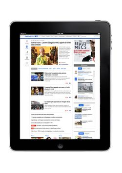 france tv info iPad