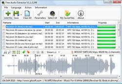 Free Audio Extractor screen1