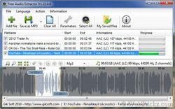 Free Audio Extractor screen2
