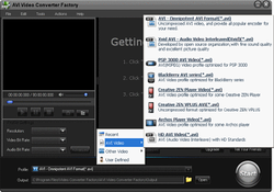 Free AVI Video Converter screen1
