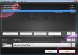 Free AVI Video Converter screen2