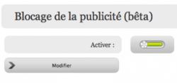 free blocage publicité