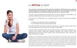 Free détail 4G