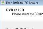 Free DVD ISO Maker : créer des images ISO de CD ou de DVD