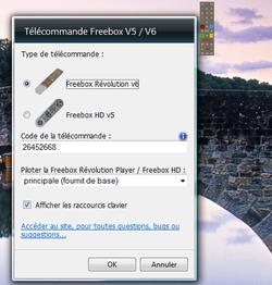 Free gadget télécommande 1