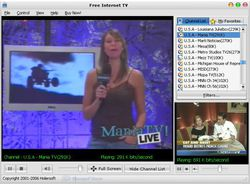 Free Internet TV screen 1
