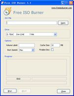 Free ISO Burner screen1