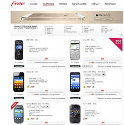 Free Mobile boutique