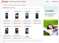 Free Mobile terminaux