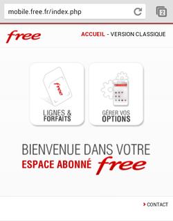 Free Mobile version mobile 1