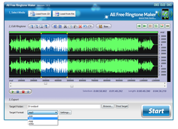 Free Ringtone Maker screen1