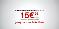 Freebox 4 forfaits