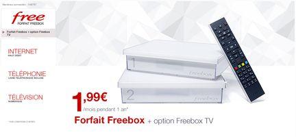 freebox crystal vente privée