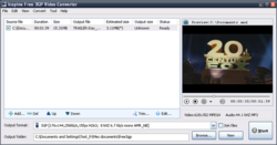 Freez 3GP Video Converter screen1