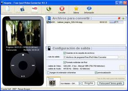 Freez iPod Video Converter screen1