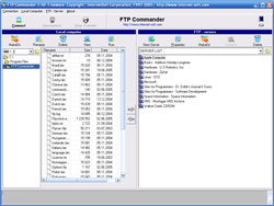 FTP Commander Pro screen1