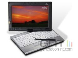 Fujitsu ordinateur portable lifebook p1610 disque ssd small
