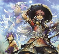 Fûrai no Shiren DS 2 - artwork