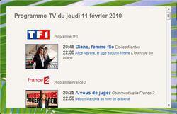 Gadget programme TV 2
