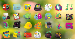 Gaia 10 Icons screen1